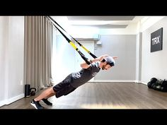 TRX Live | Upper Body Strength | Louis Lopez - YouTube