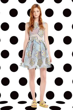 Red Valentino | Spring 2015 Ready-to-Wear Collection | Style.com