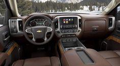 GM reveals premium pickup: 2014 Chevrolet Silverado High Country