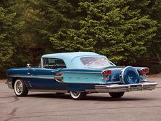 Pontiac Parisienne Convertible (1958).