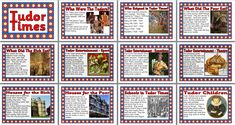 History Teaching Resource - Tudor Times printable classroom display posters for primary schools Primary History, Teaching History, Teaching Resources, School Projects, Projects For Kids, Tudor Facts, 5th Grade Social Studies, Classroom Displays, Classroom Ideas