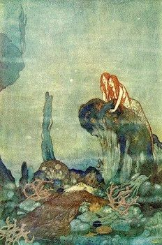 Mermaids - Arthur Rackham