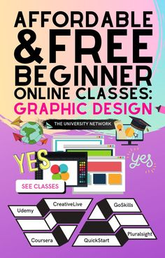 Here are our handpicked *affordable or free* online courses and programs for beginners in graphic design! Whether you want to become a graphic designer or learn more about the subject, here's a list of affordable and free online graphic design courses. Online Graphic Design, Graphic Design Projects, Graphic Design Programs, Scholarships For College, College Tips, College Students, College Club, College Classes, Solo Ads