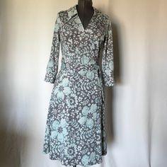 """Lapis Wrap Dress size  M (8-10) NWOT fabulous wrap dress with pockets.Length 45"""" Lapis Dresses"""