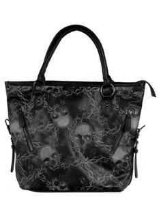 """Women's+""""Urban+Decay""""+Tote+Bag+by+Iron+Fist+Clothing+(Black)"""