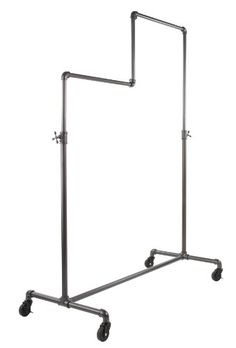 Buy Econoco Adjustable Pipeline | Double Tier Ballet | Vintage Rolling Rack - Topvintagestyle.com ✓ FREE DELIVERY possible on eligible purchases