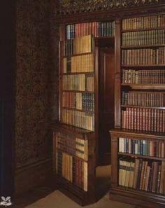 Library with a secret door. :)