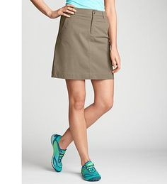 Travex skirt. Eddie Bauer, $49.95.  This skirt looks really comfortable and perfect for traveling!