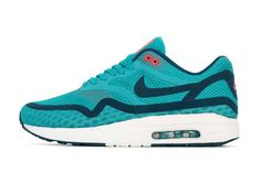 NIKE AIR MAX 1 BREATHE (TURQUOISE/NAVY)