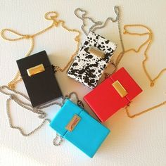 Snob Essentials Jewel Box Crossbody Bag | Spotted on bagsnob