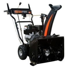 Sno-Tek 920406 20-Inch 2-Stage Self-Propelled Gas Snow Blower $545 (9% off) @ Home Depot Gas Snow Blower, Electric Snow Blower, Snow And Ice, Small Engine, Slushies, Weather Conditions, Stage, Home, Snow Plow