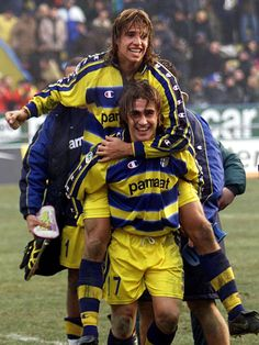 Hernan Crespo & Fabio Cannavaro - AS Parma