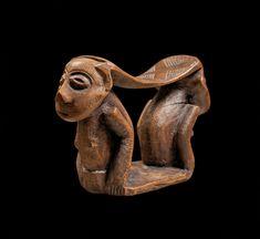 Tribal Art, African Art, Stool, Lion Sculpture, Statue, History, Architecture, Design, Wood Art