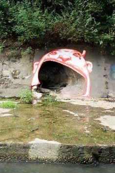 street art culvert