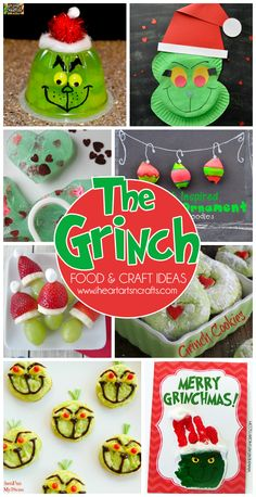 25 Grinch Crafts, Recipes, and Activities For Kids