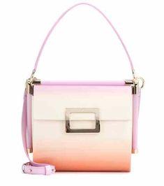 Miss Viv' Carré Small patent leather shoulder bag | Roger Vivier