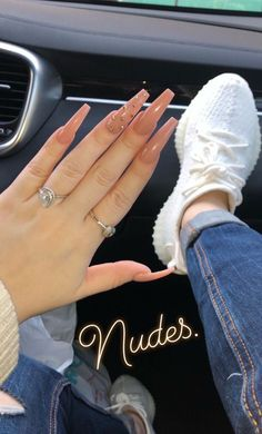 50 Beautiful Nail Art Designs & Ideas Nails have for long been a vital measurement of beauty and Aycrlic Nails, Glitter Nails, Hair And Nails, Coffin Nails, Best Acrylic Nails, Acrylic Nail Designs, Color For Nails, Fire Nails, Nagel Gel