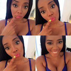 Flawless Makeup Selfie Pretty Girl Swag Beautiful Celebrity Angela Simmons