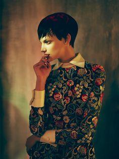Neo Romantik: Jessica Pitti By Stefan Milev For Madame Germany November 2013