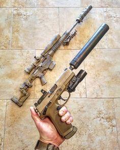 Zombie Weapons, Weapons Guns, Guns And Ammo, Armas Wallpaper, Custom Guns, Assault Rifle, Cool Guns, Fantasy Weapons, Military Weapons
