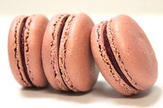 Black Currant French Macarons by TC Paris:  Sour black current that grabs the back of your tongue, gently countered with hints of lavender.