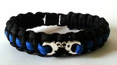 Police/Correctional Handcuff Paracord Bracelet