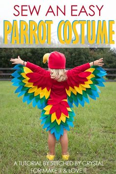 Sew an Easy Parrot Costume