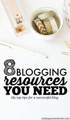 Many of you have wondered about what tools or resources I've used to improve my blog. I believe that in order to be a successful blogger, you will need to invest in learning new strategies, such as through ebooks, webinars, courses, and more.