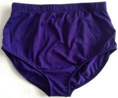 DANSKIN Team Essentials Cheer Trunk Shorts Adult XL Dance Gymnastics Purple
