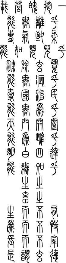 Chapter 10 : Gender-Inclusive Tao Te Ching : Seal Scripts, Calligraphy, Commentary