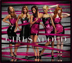 Girls Aloud - Tangled up Black Lace Jumpsuit, Nicola Roberts, Cheryl Fernandez Versini, Cute School Uniforms, Girls Aloud, Cheryl Cole, Only Girl, Pretty Lingerie, Girl Bands