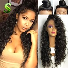 73.22$  Watch here - http://ali0ot.worldwells.pw/go.php?t=32776754632 - 7A Brazilian Wigs For Black Women Deep Curly Full Lace Human Hair Wigs With Baby Hair Glueless Curly Lace Front Human Hair Wigs