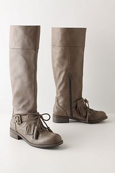 buckled oxford boots