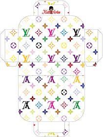 Louis Vuitton Free Printable Paper Purses