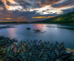 Image taken from Dawki, Meghalaya, India..