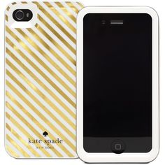 Diagonal Stripe Iphone 4 Case ($40) ❤ liked on Polyvore