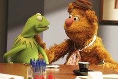 The Muppets GIF and a Graf: Bear and Frog, Friends Forever | Wired | October 07, 2015