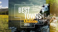 """Please vote Port Angeles, Wa. One of these 64 towns can be called the """"Best Town Ever."""" Crowning the winner will be up to you. Places To Travel, Places To Visit, Outside Magazine, Port Angeles, Beautiful Islands, Fun To Be One, Where To Go, Michigan, Things To Do"""