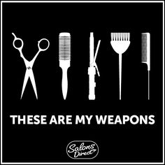 This is why I stay away from the salon! All it takes is a couple bad experiences. Scary people with scissors, doing things to my hair to ruin my life.