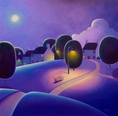 One Starry Night -  by Paul Corfield