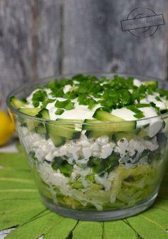 Salad Recipes, Diet Recipes, Vegetarian Recipes, Cooking Recipes, Healthy Recipes, Skinny Broccoli Salad, Breakfast Recipes, Easy Meals, Food And Drink
