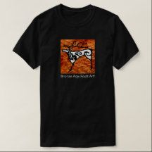 Prehistoric rock art deer T-Shirt