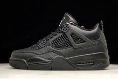 """f4b1abbdf305ea Soleki x Air Jordan 4 """"Black Cat"""" 308497-002 For Sale"""
