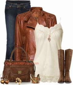love the earth tones, causal cool for a weekend