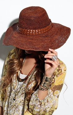 large hat for summer | thetopcollection.blogspot.com |#hat