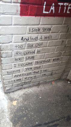 we build walls