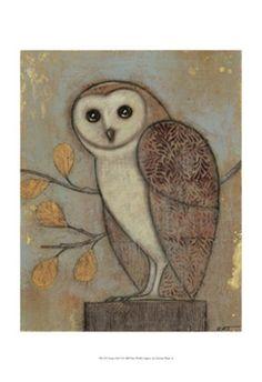 Ornate Owl II by Norman Wyatt Jr.