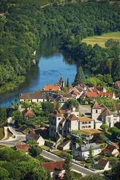 """wanderthewood: """" Meyronne, Midi-Pyrenees, France by valleeDeLaDordogne """" Beautiful Places In The World, Places Around The World, Travel Around The World, Wonderful Places, Great Places, Places To See, Around The Worlds, Beautiful Things, Belle France"""