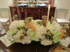 Party Centerpiece.  Au Courant Floral Design.