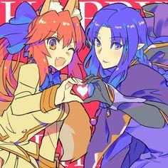 Tamamo and Medea